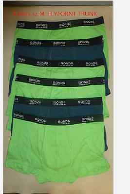 6pairs/10pairs x Mens BONDS Underwear sz M,L XL Flyfront Trunk S XL fit shorts