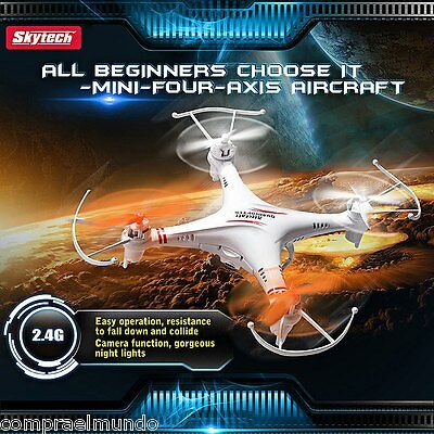 Skytech M62 4 Channel Quadcopter 6 Axis 2.4GHZ Copter with Flash Night Lights