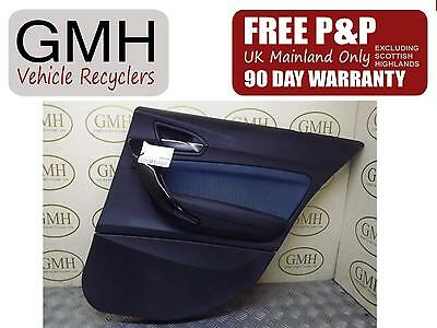 Bmw 1 Series (F20) Right Driver Offside Rear Door Card Panel 2011-2015 •