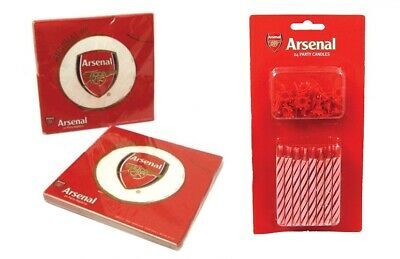 Arsenal Football Club Tableware Party Pack for 24 Birthday Party
