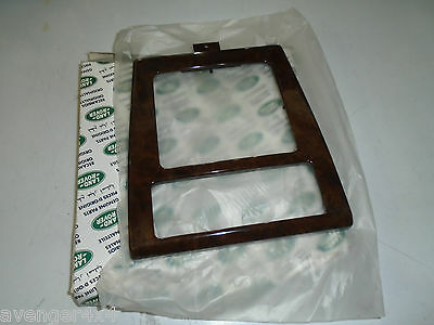 Land Rover Range Rover P38 Wood Veneer Gear Surround Fwj100040 Genuine New