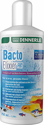 Dennerle Bacto Elixir FB7 Filter Bacteria Sludge Remover Cleaner Aquarium 250ml