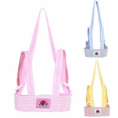 Safety Toddler Walking Assistant Striped Baby Kid Harness Strap Belt Reins New