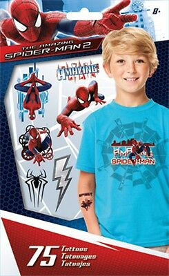 SpiderMan Tattoos- 75 Ct. Party Favour