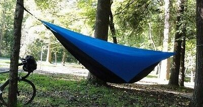 Tent Hammock w/bug netting, rainfly & tree straps, Complete System, Backpacking