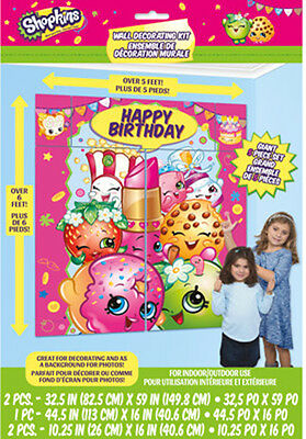Shopkins Wall Decoration Kit
