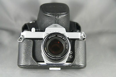 Asahi Pentax SP1000 Spotmatic Camera 35mm With Case Takumar 1:2/55 Lens Japan
