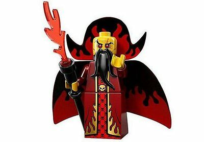 LEGO 71008 MINIFIGURES Series 13 Evil Wizard with unused code