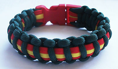 Ulster Defence Regiment Paracord Wristband