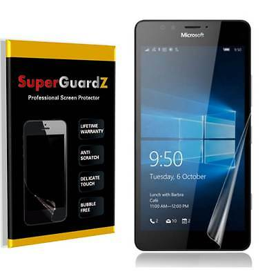 4X SuperGuardZ® HD Clear Screen Protector Shield Armor For Microsoft Lumia 650