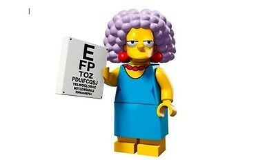 LEGO 71009 THE SIMPSONS Series 2 Minifigures SELMA BOUVIER #11 with unused code
