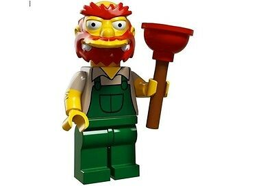 LEGO 71009 MINIFIGURES The Simpsons series 2 #13 Groundskeeper Willie