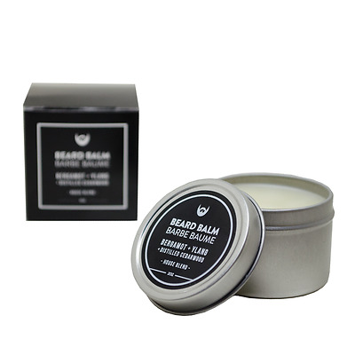 Always Bearded Lifestyle™ Beard Balm: Bergamot + Ylang with Distilled Cedarwood
