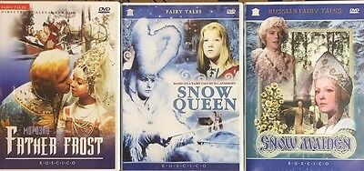 RUSSIAN WINTER FAIRY TALES 3DVD NTSC set with ENGLISH subtitles