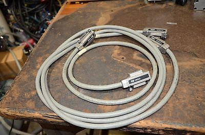 HP Amp Lot of 2 GPIB Cables 10833A 553577-4
