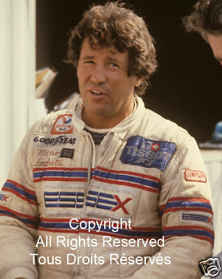 Mario Andretti 'F1 Formula One Photos Collection of 3 (8x10)