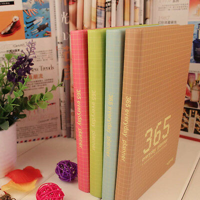 365 Everyday Planner Year/Month/Week A6 Personal NoteBook Schedule Diary #Y5