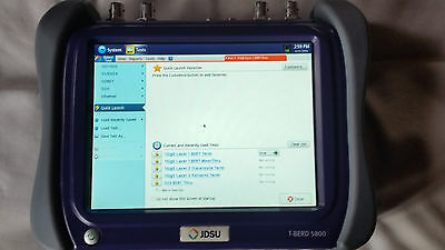 JDSU T-BERD 5800 Telecommunications Test Equipment