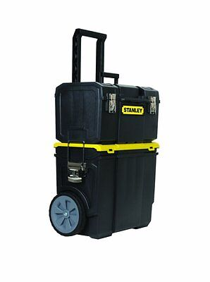 Stanley STST18613 3-in-1 Mobile Workcenter, 18-Inch, Black/Yellow