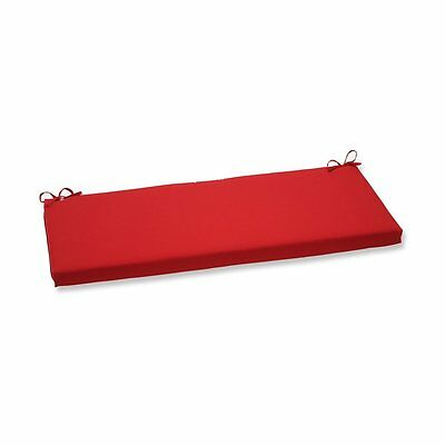 Pillow Perfect 570150 Pompeii Red Bench Cushion