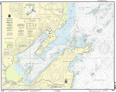 NOAA Chart Womens Bay 13th Edition 16596