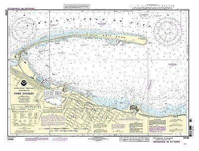 NOAA Chart Port Angeles 19th Edition 18468