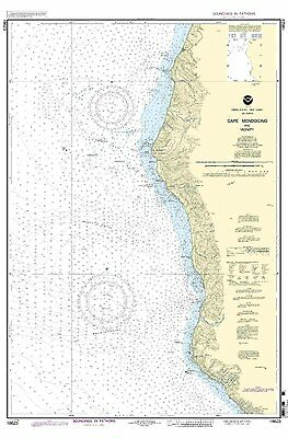 NOAA Chart Cape Mendocino and vicinity 12th Edition 18623