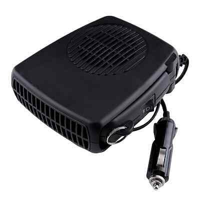 Portable Car 360° Heater Defroster 12V Heating Electric Travel Vehicle Fan