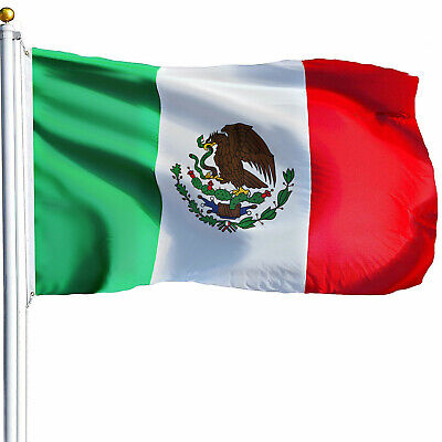 3' x 5' ft MEXICO Mexican Flag Polyester High Quality Outdoor Indoor USA SELLER