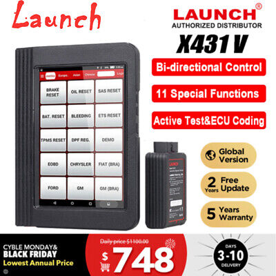 LAUNCH X431 V Pro 8 inch Auto Diagnostic Tool Code Reader Scanner Full Car model