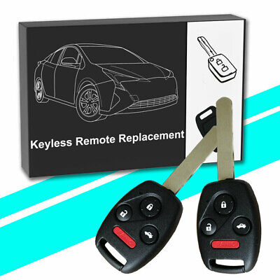 2 for Honda Accord 2003 2004 2005 2006 2007 for oucg8d-380h-a Remote Entry Key