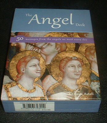 The Angel Deck 50 Large Message Cards From The Angels-Chrissie Astell Brand New
