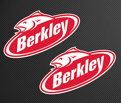 Berkley Fishing Decals x 2 in the set, 20cm wide suits boat tackle lures