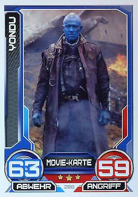 TOPPS Marvel HERO ATTAX 3  Guardians of the Galaxy - MOVIE KARTEN - #177 - # 208