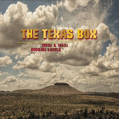 V.A. - THE TEXAS BOX - 10-CD BOX with 200 PAGES BOOK - ROCKABILLY ROCK 'N' ROLL