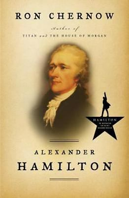 ALEXANDER HAMILTON by Ron Chernow Hardcover HB/DJ book biography history NEW HB