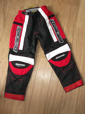 Kids childrens mx GP-PRO Pants trousers motocross  SIZE XS RED