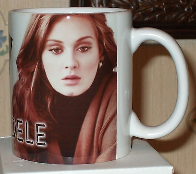 Adele tribute mug 19.21 and 25 albums  mug