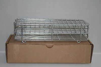 NEW Stainless Steel Test Tube Rack 90 Places 22mm