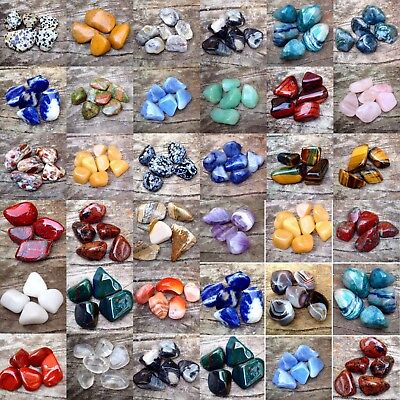 EXTRA LARGE XL Tumblestones 30 - 40mm £1.99 Healing Crystals Buy 4 get 2 FREE