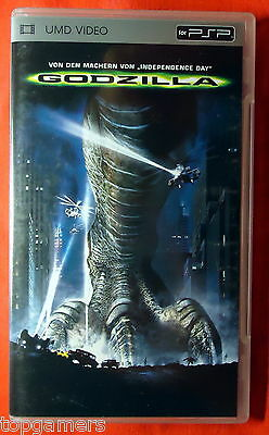 Godzilla -  Sony PSP UMD Movie - PlayStation Portable