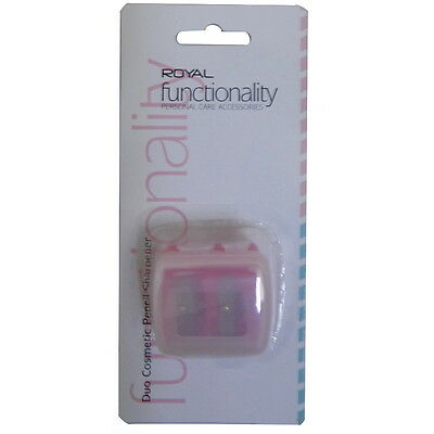 Royal Cosmetic Functionality Duo Pencil Sharpener CARDED