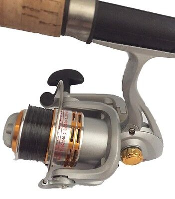 Fishing Spin Reel size 3000 with line ball bearing driven 12 months warranty New