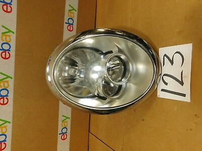 05 06 07 08 Mini Cooper PASSENGER Side Headlight Used Front Lamp #123-H