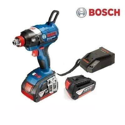 Bosch GDX18V-EC 18V 5.0Ah Brushless Impact Driver Wrench Full Set