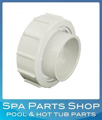 """Pool & Spa 2.5"""" - 2"""" Pump Union Nut Tail Piece PVC Connection Waterway 400-5990"""