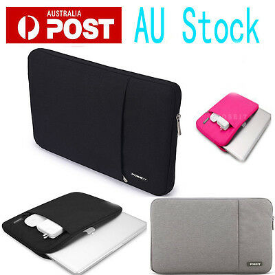 """POSEIT Brand Sleeve carry bag case For Macbook Air Pro / White 11 13 15 17"""" inch"""