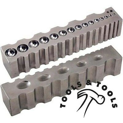 Steel Block Design Forming Block Dapping Jewellery Bending & Shaping Bench Tool