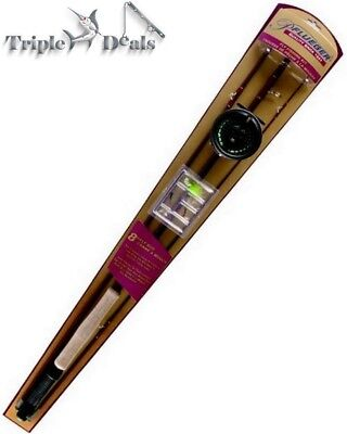 New Pflueger 8' 3 Pce 5/6 Weight Fly Fishing Combo - Fly Fishing Rod Kit