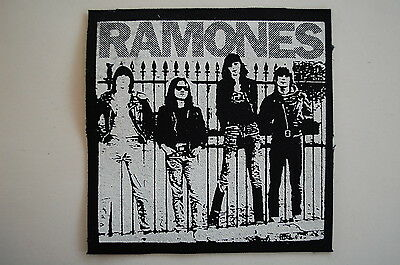 "Ramones Cloth Patch Sew On Badge Adicts Punk Rock Music Approx. 4""X4"" (CP42)"